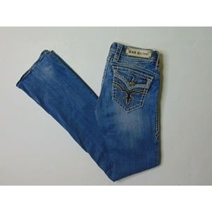 Rock Revival 25 May Easy Boot Blue Jeans Denim